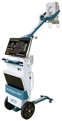 Мобильный рентгеновский аппарат серии МобиРен-4МТ МТЛ