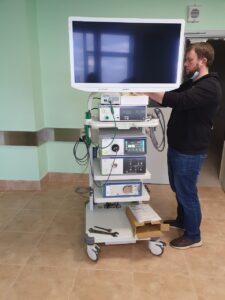 Хирургическая стойка olympus от Aurum Medical